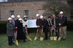 Ground breaking for renovations