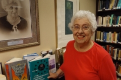 Helene A in the Cantor Chick Library