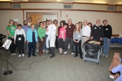 Ohav volunteers sedar for disabilities
