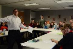 Rabbi Dan with group